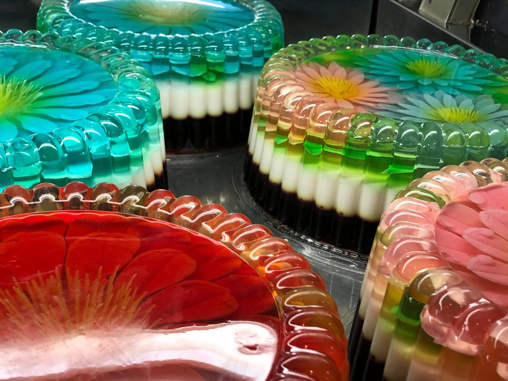 Mexican Gelatina Cakes
